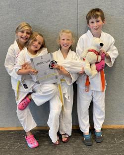 Judoprüfung Saskia